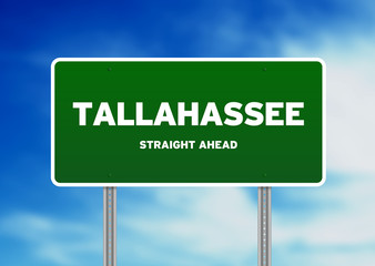 Tallahassee, Florida Highway Sign