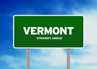 Vermont Highway Sign