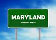 Maryland Highway Sign