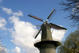 Dutch windmill in Schiedam