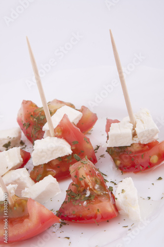 Feta Cheese and Tomato