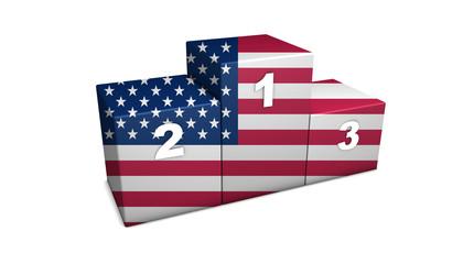 USA Podium