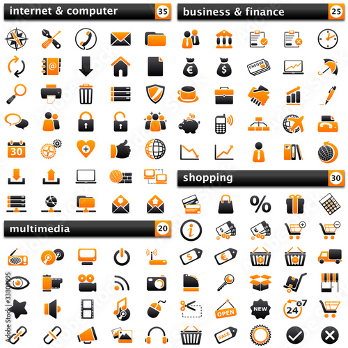 pack Icons I: orange