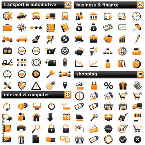pack Icons III: orange