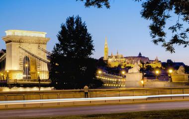 Budapest Kettenbrücke 1