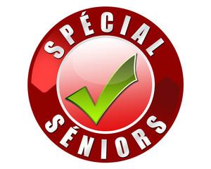 Badge spécial séniors