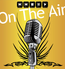 On the air - background