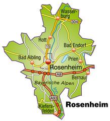 Landkreis Rosenheim Variante 1