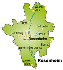 Landkreis Rosenheim Variante 4