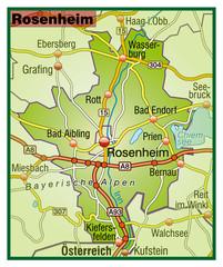 Landkreis Rosenheim Variante 5