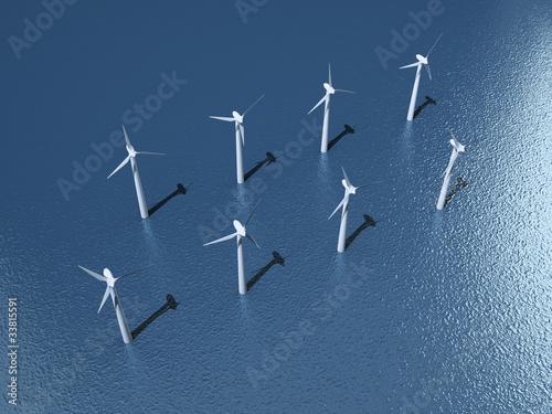 Offshore Windpark (3D) - 33815591