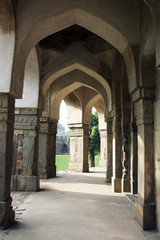 Old stone archways