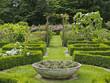 Flower Garden with Pergola