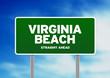 Virginia Beach Highway Sign