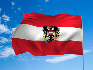 Flag of the Republic of Austria