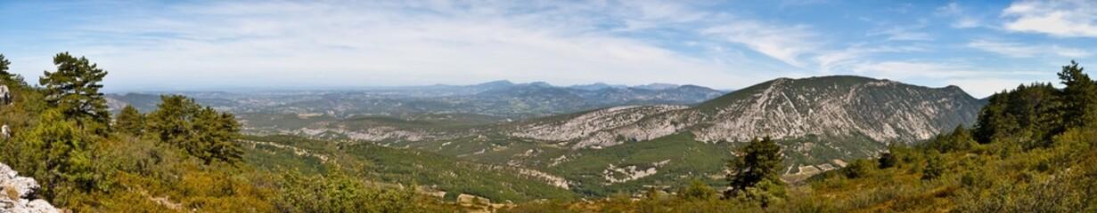 Panorama de la Provence en France - Mont Ventoux