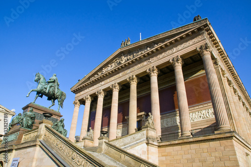 The Old National Gallery in Berlin