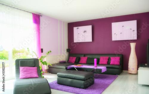 Wohnzimmer Bild Lila Kreative Ideen Fr Ihr Zuhause Design