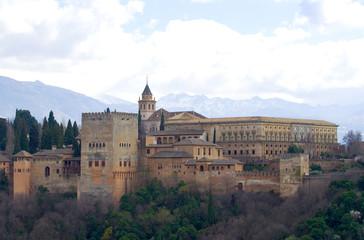 Palacio de Carlos V - Alhambra - Granada - Spanien