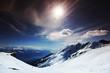 Fototapeten,berg,berg,schnee,betätigung