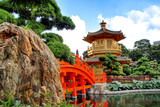 Fototapety The Pavilion of Absolute Perfection in the Nan Lian Garden, Hong