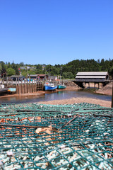 St. Martins, New Brunswick wharf