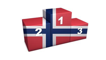 Norwegian Podium