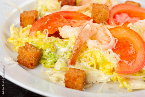 tiger shrimps salad
