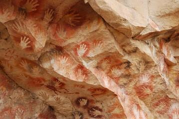 Arte rupestre - Cueva de las Manos - Argentina