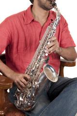 Sax Player