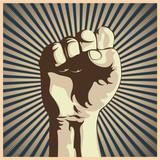 Fototapeta protest - potęga - Znak / Symbol