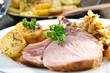 Bayerische Küche mit Ripperl