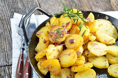 Bratkartoffeln im Pfandl