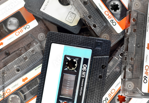 Audio compact cassettes, background