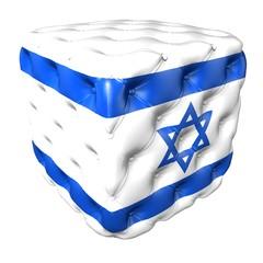 POLTRONA SOFà CON BANDIERA ISRAELE