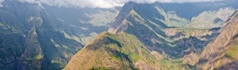 cirque de Mafate, île de la Réunion