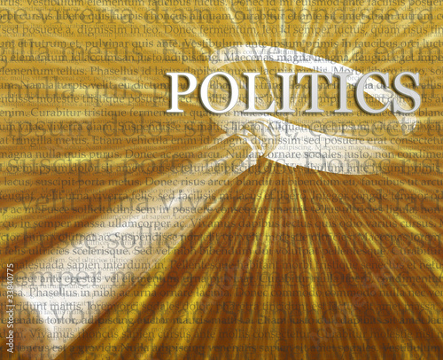 Politics search illustration