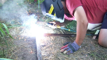 electric arc welding