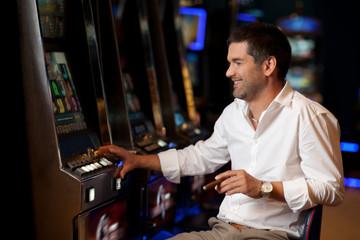 hoping to win casino player