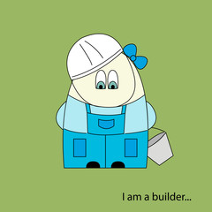 I am a builder colored