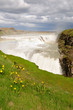 Gullfoss Waterfall On Iceland
