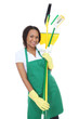 African Woman Maid