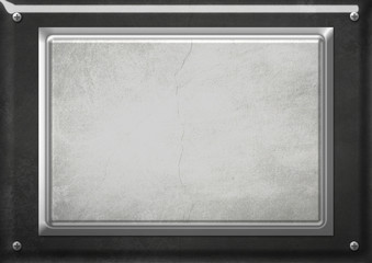 Fond métallisé plaque visée 2