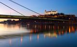 Bratislavský hrad a nový most