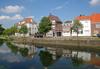 canal in Bergen op Zoom