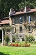 maison de la roseraie du parc de la tête d'or, lyon - france