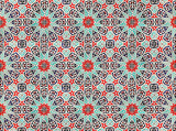 east pattern poster
