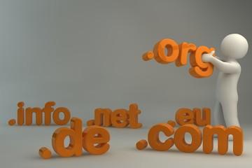 Domain .de .com .net .org .info .eu  - V2.1