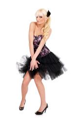 posing as marilyn monroe