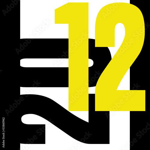 2012 noir et jaune